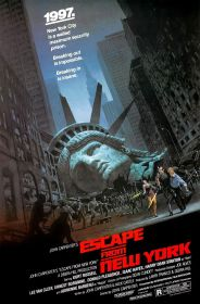 escape from new york poster 1