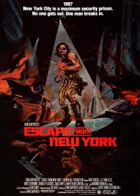 escape from new york poster 2