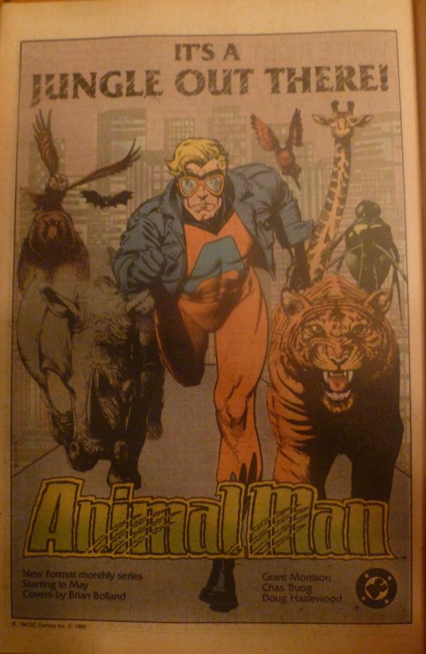 animal man ad cops 1 1988