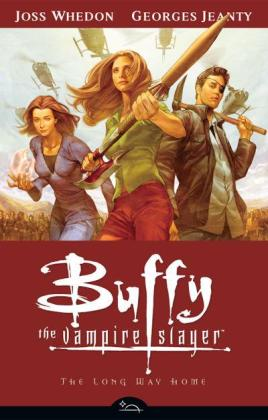 buffy season 8 volume 1 the long way home