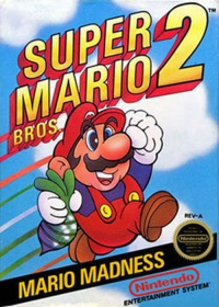 super mario bros 2 game box