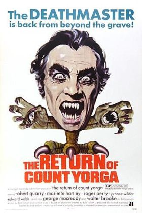 return of count yorga poster