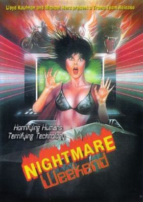 nightmare weekend poster 2