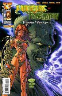 witchblade frankenstein monster war 3
